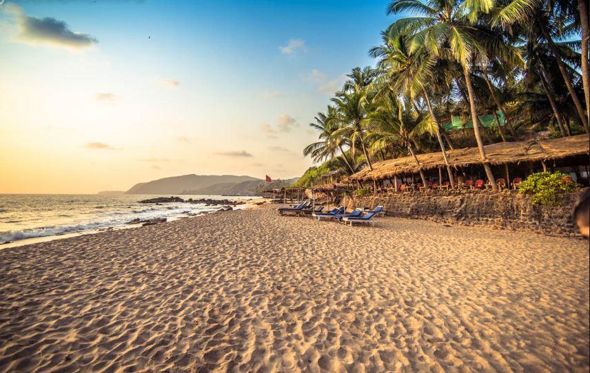 Фото южного гоа индия пляжи
