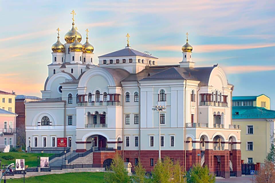 Гуляем по Екатеринбургу.