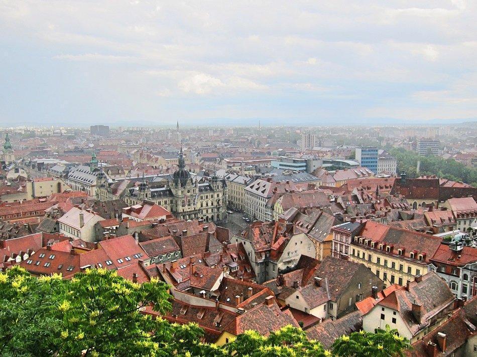 Грац — прогулка по бывшей столице Австрии