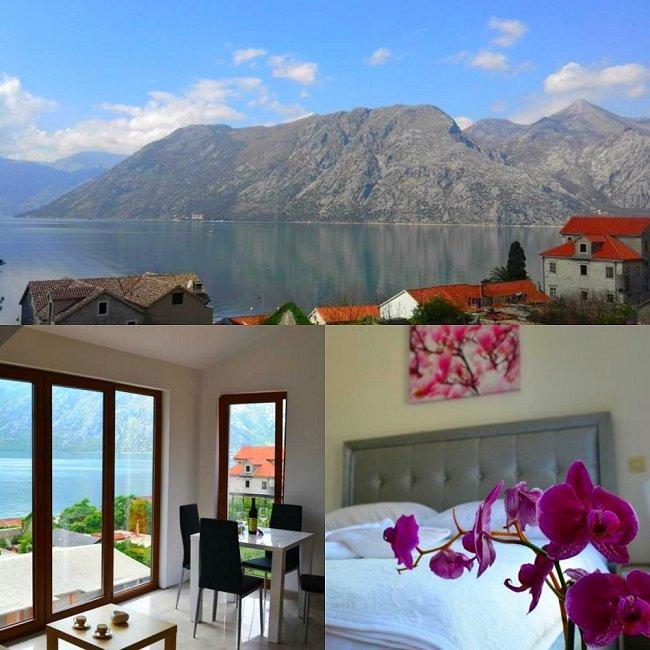 Отели и апартаменты с роскошным видом на море, Черногория