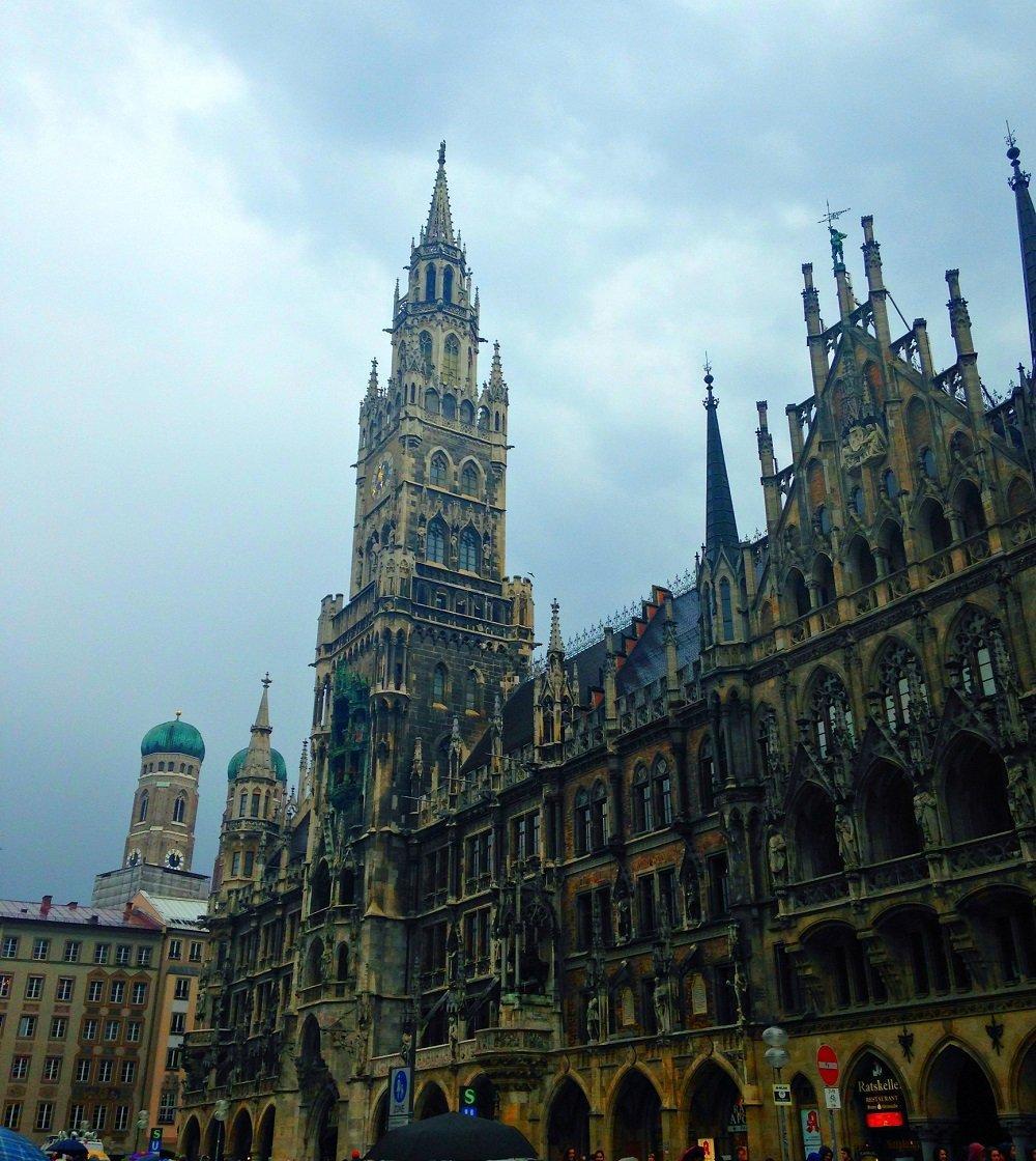 1 день в Мюнхене, начало Евротура
