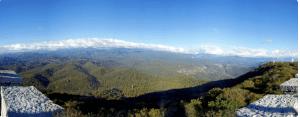 Дача Сталина в Сочи и гора Ахун