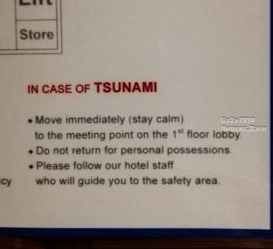 Таиланд. Куда бежать, если вдруг цунами?