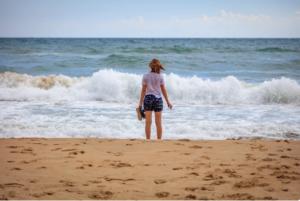 Накупались в Чёрном море, и заболели всей семьей. Вода оказалась не такой уж и чистой.