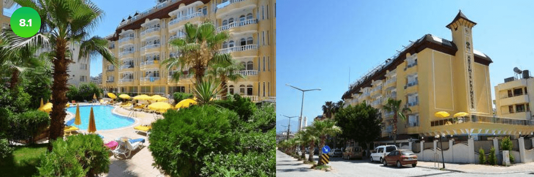 Топ 5 предложений в лучшие отели Турции из Москвы !