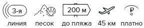 -27% на тур в Турцию из Москвы , 11 ночей за 26 112 руб. с человека — Palmiye Park Apart!