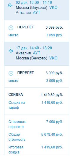 Black Friday от Победы стартовала! Скидка 20% на все направления!