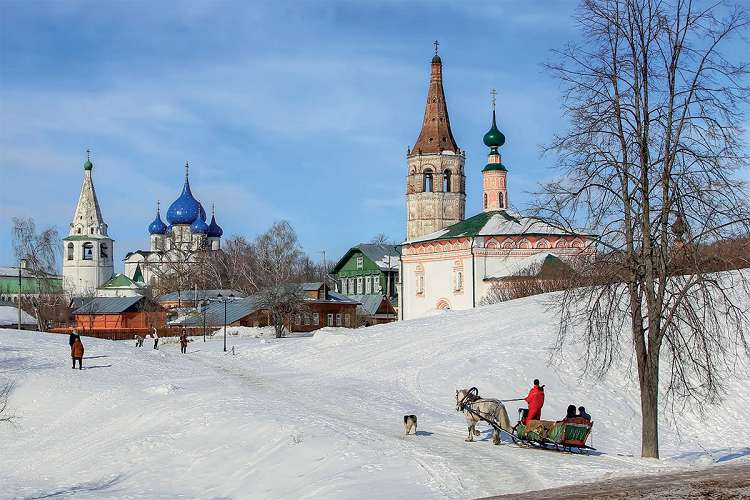 Города России, в которых красиво зимой