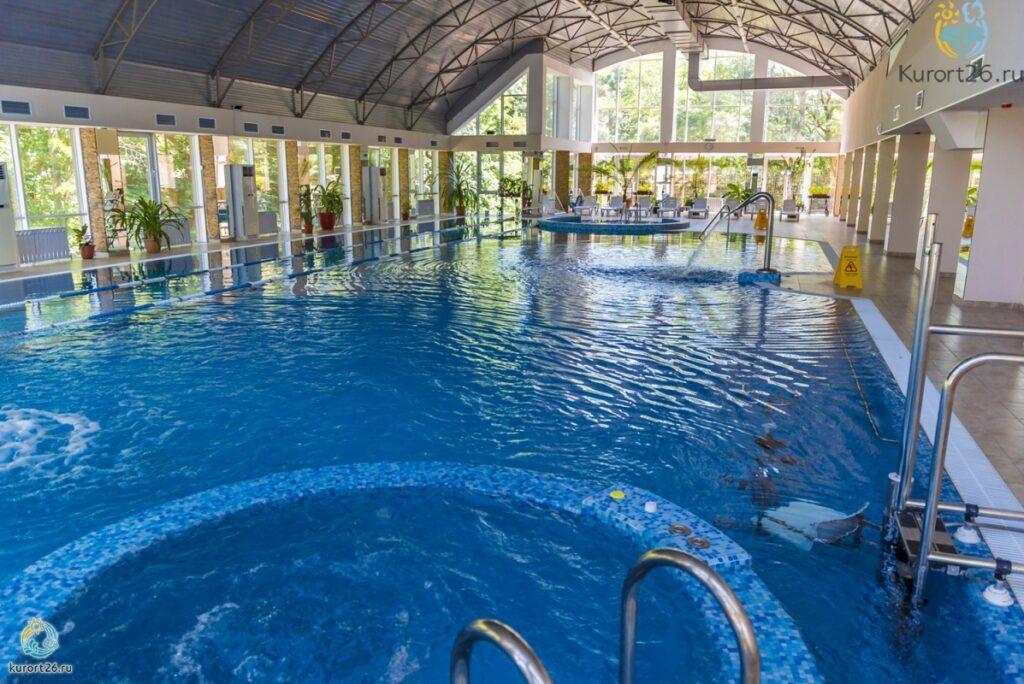 Санатории с лучшими бассейнами на Кавказских Минеральных Водах