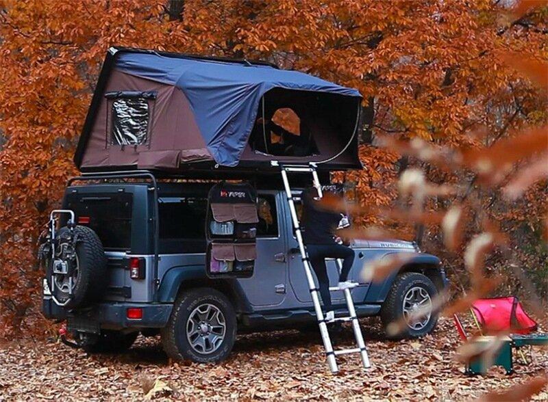 Палатка на крышу авто: преимущества в путешествии от обычной