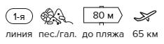 -30% на тур в Турцию из Москвы , 7 ночей за 42600 руб. с человека — Larissa Sultans Beach Hotel!