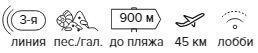 -27% на тур в Турцию из Москвы , 7 ночей за 30 247 руб. с человека — Grand Nar Hotel!