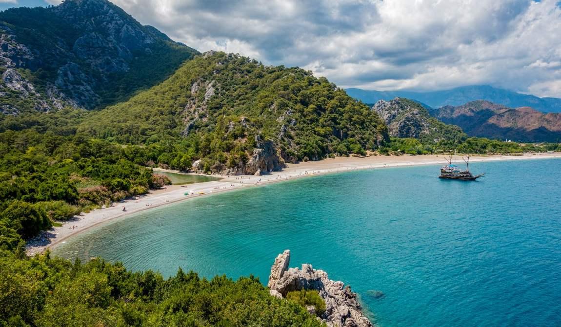 Лучшие пляжи Турции, на которые ходят сами местные